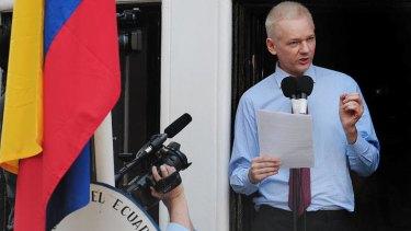 Julian Assange ... not guilty of any crime, according to Rafael Correa.