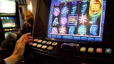 Money rolling in: Half of the nation's poker machines are in New South Wales.