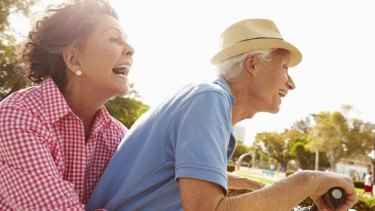 Physical activity is one of the keys to a sprightly old age.