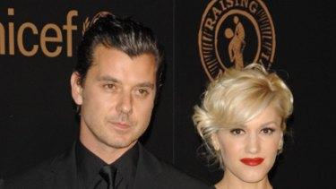 Family man ... Gavin Rossdale and wife Gwen Stefani.