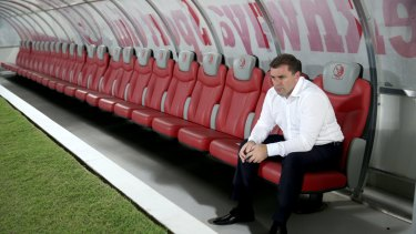 Worse was to come: Ange Postecoglou before the Socceroos' 1-0 loss to Qatar.