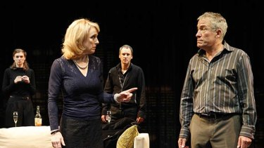Heather Bolton and Richard Piper in <i>The Gift </i> at the MTC.