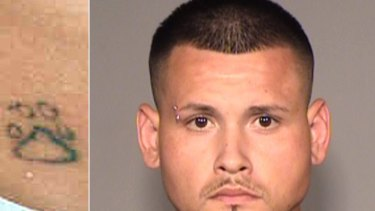Enrique Gonzalez is accused of getting a tattoo on his seven-year-old son.