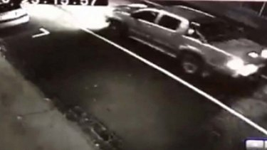 Police are seeking more information about this silver ute.