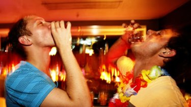 'While the bogan may make headlines with glassing attacks in a city nightclub, drink for drink the intellectual has a bigger alcohol problem.'