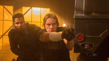 The action sequences are shapeless in <i>Chips</i>, starring Michael Pena as Ponch and Dax Shepard as Jon Baker.