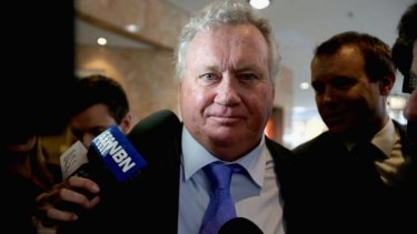 The former lord mayor of Newcastle, Jeff McCloy, whose constitutional challenge may derail changes to NSW's political finance laws.