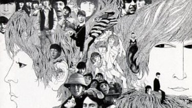 The cover of Revolver (1966). The songs on the album involved studio techniques that meant the band couldn't play them live.