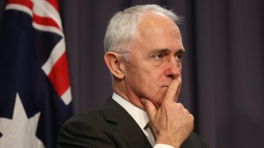"""""""Strong leaders carry out their promises. Weak leaders break them. I'm a strong leader"""": Malcolm Turnbull."""
