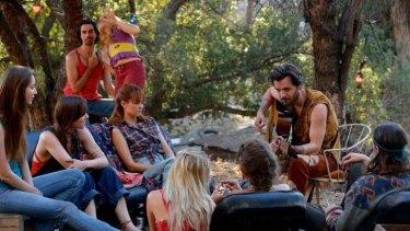 In <i>Aquarius</i> Gethin Anthony plays charismatic cult leader Charles Manson.