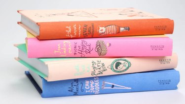 A selection of hardcover kids' books, published by Penguin Viking.