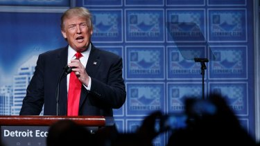 Trump says Hillary Clinton was 'guilty as hell' over the email claims.