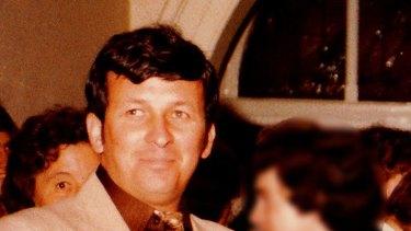 Dennis McKenna at a Deb Ball in July 1983.