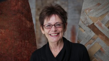 Artist and author Kim Mahood says words are the most powerful medium for her ideas.