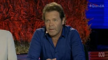 """'I'd chain myself to a bloody gate, don't you worry ..."""" Country musician Troy Cassar-Daley said he would become an activist against any mining company looking to set up near Grafton or Halfway Creek."""