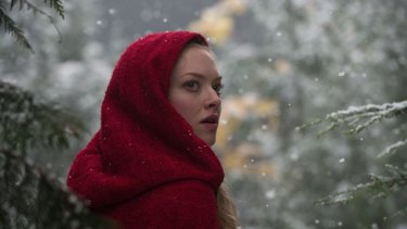 Amanda Seyfried as <i>Red Riding Hood</i>.