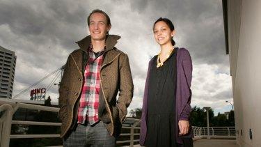 Joris Luijke and Sarah Nguyen from Human Resources at Atlassian.