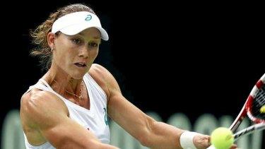 Rebounding ace: Australia's Samantha Stosur has had a run of recent good form.