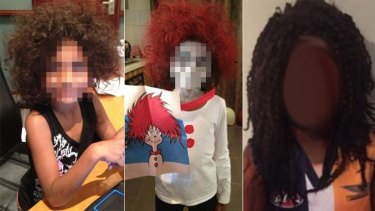 """""""Bec Bee"""" said she saw no difference between her painting her child's face white for Book Week and the Nic Naitanui impersonation that caused controversy last week."""