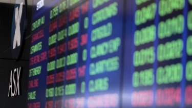 More sellers than buyers is creating a drag on the Australian Securities Exchange.