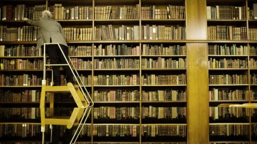 Changing times: Once described as 'cemeteries for old and forgotten books', libraries are fast evolving.