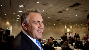 Mr Hockey, in Brisbane to spruik the federal budget, says Mr Pitt got his facts wrong.
