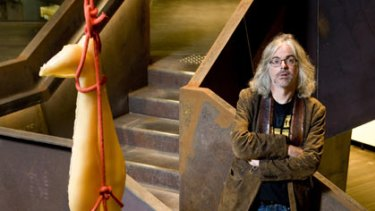 David Walsh at the Museum of Old and New Art (MONA) at Berridale near Hobart.