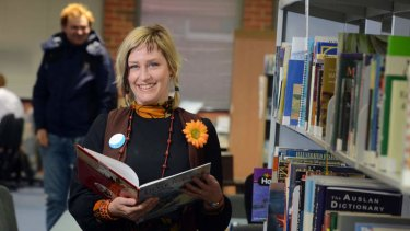 Librarian of the Year Narelle Stone.