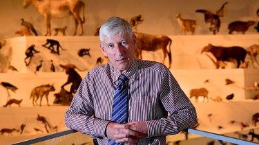 No risk: chief executive Dr Patrick Greene says the museum takes extra precautions.