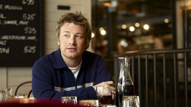 Chef Jamie Oliver has made a rare discovery.