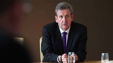 """I accept and support Mr Hartcher's decision"": Barry O'Farrell."
