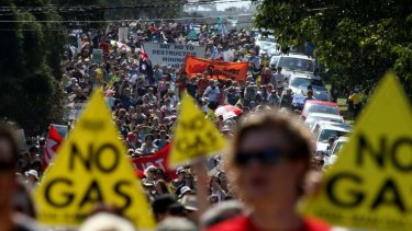 Coal seam gas and other resources have united rural and urban protesters.