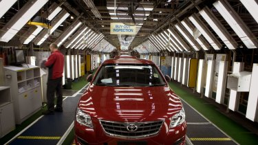 Toyota Australia will shut its car-making plant in outer Melbourne on October 3.