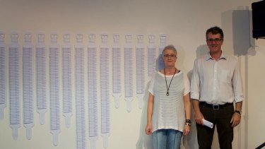 Jen Fullerton (left) and Dr Rob Ackland (right) collaborated on the project.