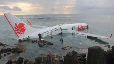 A plane has crashed off the coast of Bali.