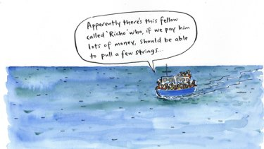 Cathy Wilcox Illustration October 20