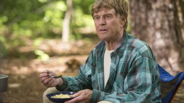 Robert Redford plays Bill Bryson in <i>A Walk in the Woods</i>.