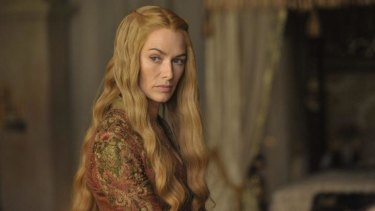Lena Heady as Cersei Lannister  in Game of Thrones, season 4.