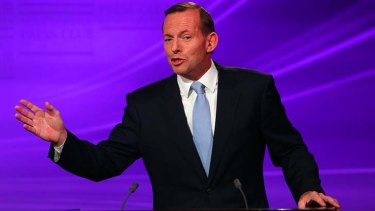 """Mr Abbott pledges to make a decision on the site of a second airport for Sydney""."