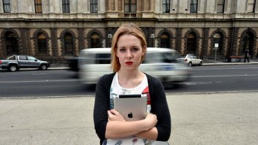Ballarat teenager Eliza Gregurke, 19, checks her Facebook 'at least 20 times a day'.