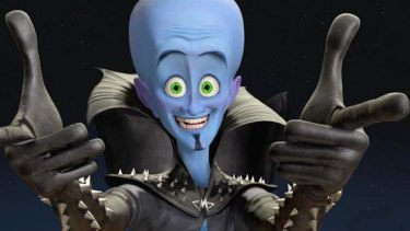 A still from Megamind.
