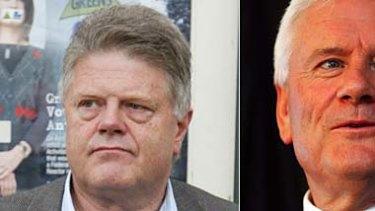 Former Labor MPs Bob Sercombe, Gavan O'Connor and Neil O'Keefe.