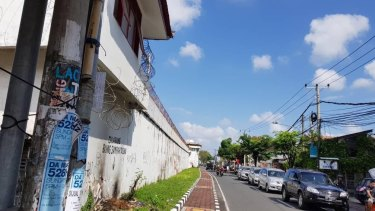 Kerobokan jail in Bali.