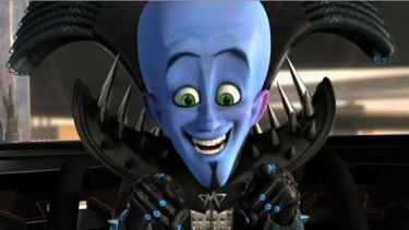 Let's be friends: The sort-of evil villain Megamind (Will Ferrell) discovers life without a hero is tough in the fabulous new Dreamworks 3D animated hit.