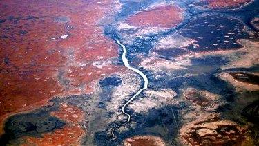Tanami Desert in northern Australia - ripe for afforestation?