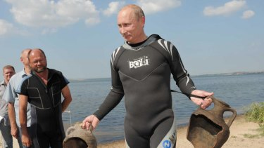 Vlad the scuba archaeologist.