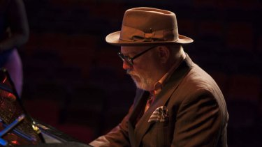 Paul Grabowsky at the Wangaratta Jazz and Blues Festival.