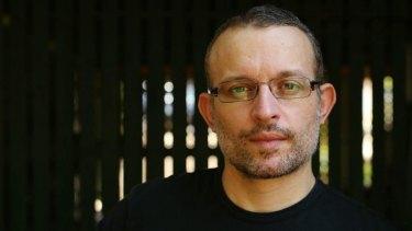 Author Patrick Holland.