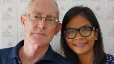 Australian journalist Alan Morison and his colleague Chutima Sidasathian.