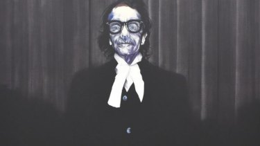 Nigel Milsom's portrait of barrister Charles Waterstreet is a strong contender for this year's Archibald Prize.